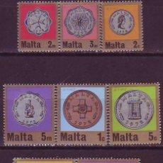 Sellos: MALTA 441/8 SISTEMA DECIMAL. Lote 177714044