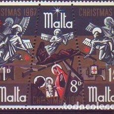 Sellos: MALTA 366/8 NAVIDAD. Lote 177720963