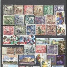 Sellos: R57-LOTE SELLOS ANTIGUOS Y MODERNOS MALTA ,SIN TASAR,BONITOS,SIN DEFECTO,VEAN IMAGEN.. Lote 178289985