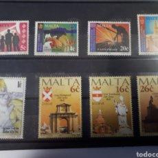 Sellos: SELLOS NUEVOS DE MALTA DE LIS AÑOS 1994 Y 1997 LOT. E18. Lote 180010367