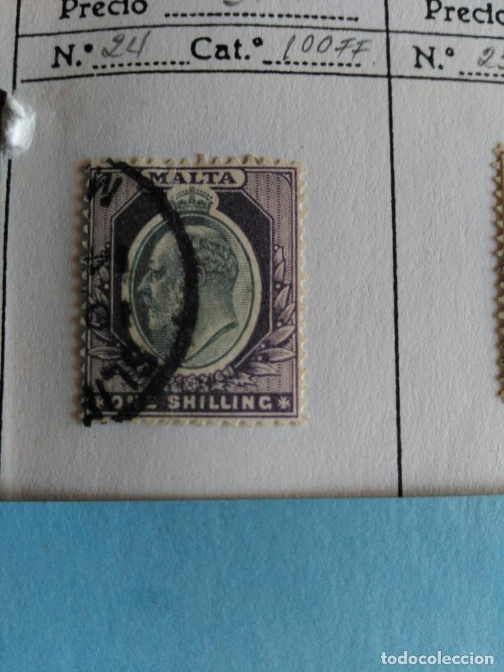 SELLO DE MALTA IVERT 24 USADO (Sellos - Extranjero - Europa - Malta)