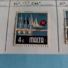 Sellos: SELLO DE MALTA IVERT 467 USADO. Lote 180922850