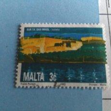 Sellos: SELLO DE MALTA IVERT 852 USADO. Lote 180924048