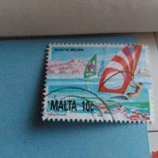 Sellos: SELLO DE MALTA IVERT 855 USADO. Lote 180924207