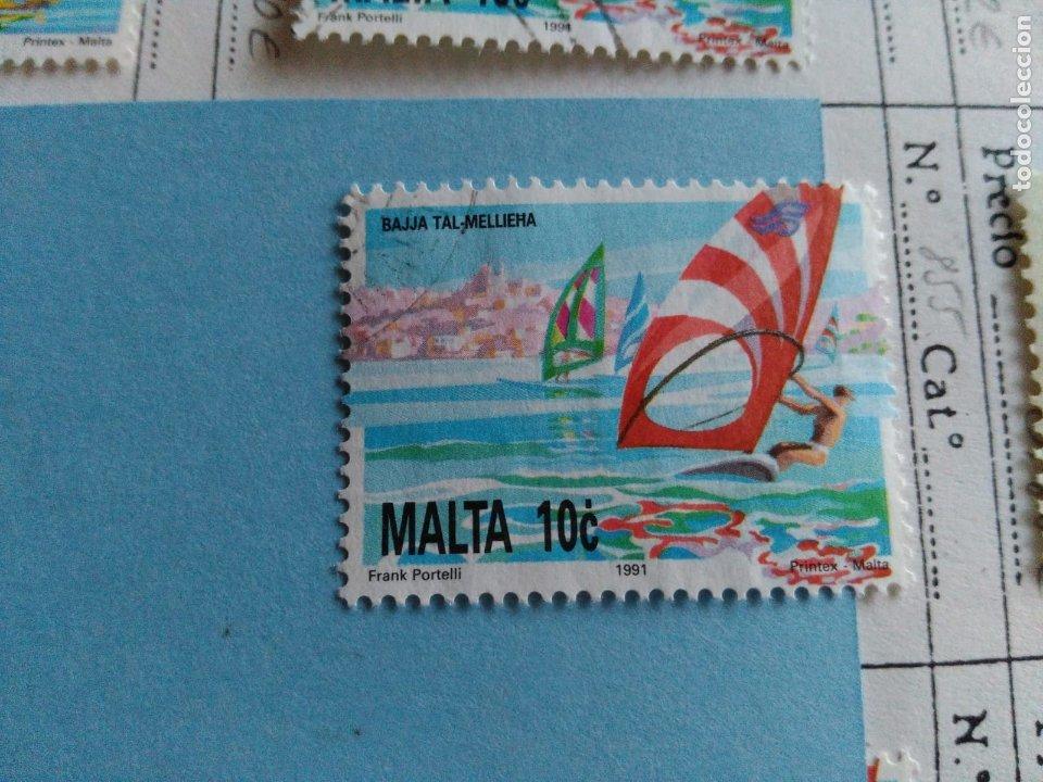 SELLO DE MALTA IVERT 855 USADO (Sellos - Extranjero - Europa - Malta)