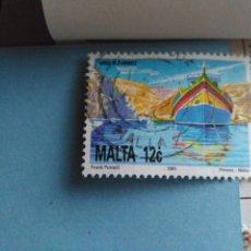 Sellos: SELLO DE MALTA IVERT 856 USADO. Lote 180924496