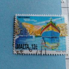 Sellos: SELLO DE MALTA IVERT 856 USADO. Lote 180924547