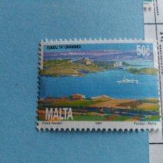 Sellos: SELLO DE MALTA IVERT 859 USADO. Lote 180924727