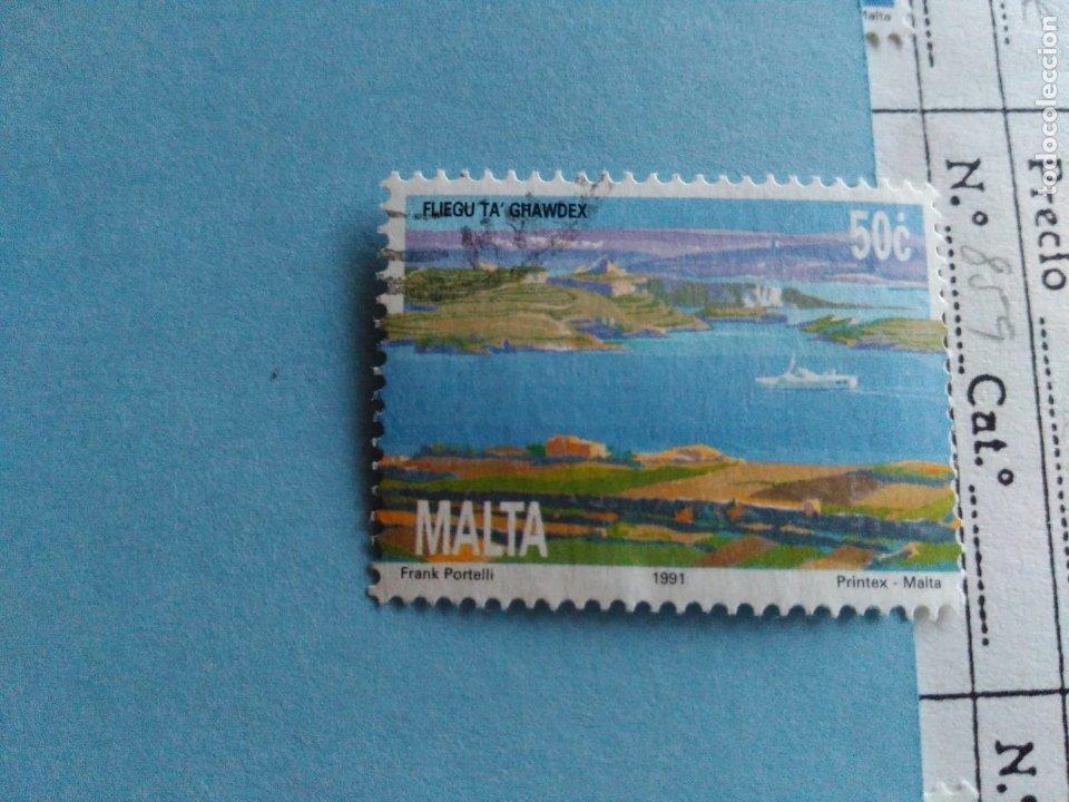 SELLO DE MALTA IVERT 859 USADO (Sellos - Extranjero - Europa - Malta)