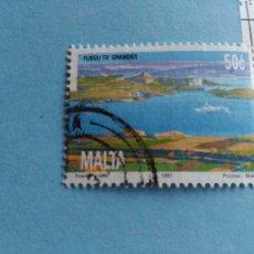 Sellos: SELLO DE MALTA IVERT 859 USADO. Lote 180924806