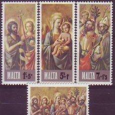 Sellos: MALTA 533/6 NAVIDAD. Lote 183693182