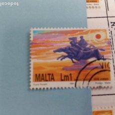 Sellos: SELLO DE MALTA IVERT 860 USADO. Lote 184024700
