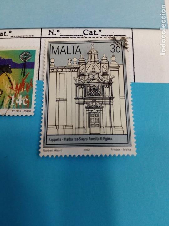 SELLO DE MALTA IVERT USADO (Sellos - Extranjero - Europa - Malta)