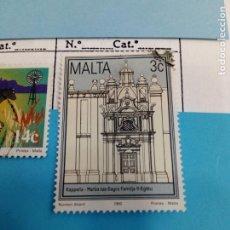 Sellos: SELLO DE MALTA IVERT USADO. Lote 184094752