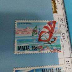 Sellos: SELLO DE MALTA 855 IVERT AÑO 1991 USADO. Lote 184098845