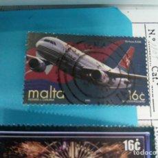 Sellos: SELLO DE MALTA 1105 IVERT AÑO 2000 TEMA AVION USADO. Lote 184435351