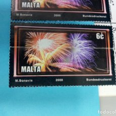 Sellos: SELLO DE MALTA 1107 IVERT AÑO 2000 USADO. Lote 184438948