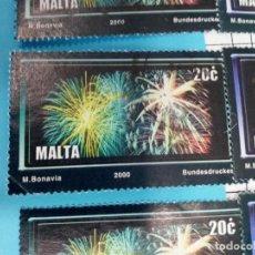Sellos: SELLO DE MALTA 1109 IVERT AÑO 2000 USADO. Lote 184439360