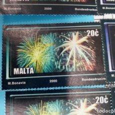 Sellos: SELLO DE MALTA 1109 IVERT AÑO 2000 USADO. Lote 184439380