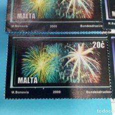 Sellos: SELLO DE MALTA 1109 IVERT AÑO 2000 USADO. Lote 184439405