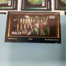 Sellos: SELLO DE MALTA 1110 IVERT AÑO 2000 USADO. Lote 184439652