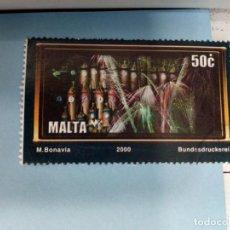 Sellos: SELLO DE MALTA 1110 IVERT AÑO 2000 USADO. Lote 184439728