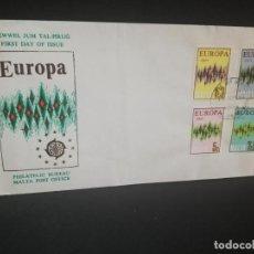 Sellos: SOBRE PRIMER DIA. EUROPA. MALTA. PHILATELIC BUREAU. 1972.. Lote 185930470