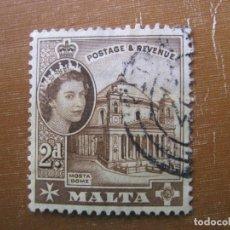 Sellos: MALTA 1956, YVERT 243. Lote 187374730