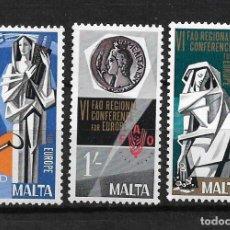 Sellos: MALTA 1968 ** SERIE COMPLETA - 17/33. Lote 189212850