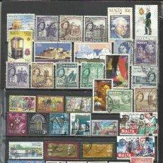 Sellos: R150-LOTE SELLOS ANTIGUOS Y MODERNOS MALTA ,SIN TASAR,BONITOS,SIN DEFECTO,VEAN IMAGEN.. Lote 190912471