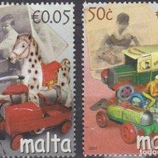 Sellos: LOTE DE SELLOS - MALTA - AHORRA GASTOS COMPRA MAS SELLOS. Lote 191845505