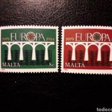 Sellos: MALTA YVERT 685/6 SERIE COMPLETA NUEVA ***. EUROPA CEPT. PUENTES.. Lote 194961805