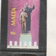 Sellos: MALTA 1988 - YVERT NRO. 770 - USADO - . Lote 195047888