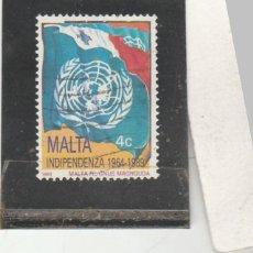 Sellos: MALTA 1989 - YVERT NRO. 790 - USADO - . Lote 195048001
