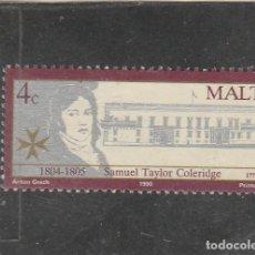 Sellos: MALTA 1990 - YVERT NRO. 816 - USADO - . Lote 195048337