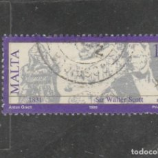 Sellos: MALTA 1990 - YVERT NRO. 818 - USADO - . Lote 195048430