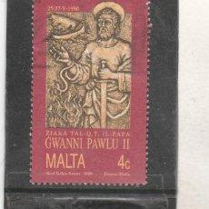 Sellos: MALTA 1990 - YVERT NRO. 820 - USADO - . Lote 195048487