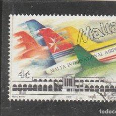 Sellos: MALTA 1992 - YVERT NRO. 862 - USADO - . Lote 195048602