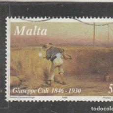 Sellos: MALTA 1996 - YVERT NRO. 968 - USADO - . Lote 195048652