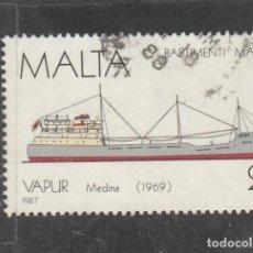Sellos: MALTA 1987 . YVERT NRO. 756 - USADO- . Lote 198371133