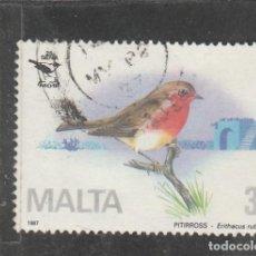 Sellos: MALTA 1987 . YVERT NRO. 743 - USADO- . Lote 198371211