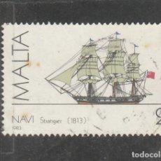 Sellos: MALTA 1983 . YVERT NRO. 681 - USADO- . Lote 198371745
