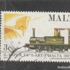 Sellos: MALTA 1983 . YVERT NRO. 661 - USADO- . Lote 198371807