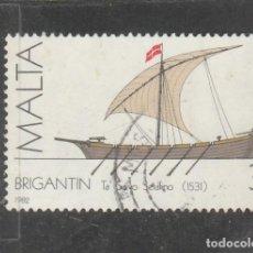 Sellos: MALTA 1982 . YVERT NRO. 657 - USADO- . Lote 198371891