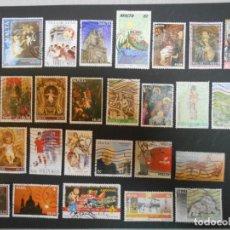 Sellos: MALTA-LOTE DE 53 SELLOS DIFERENTES-2 FOTOS-LOTE 2. Lote 200654758