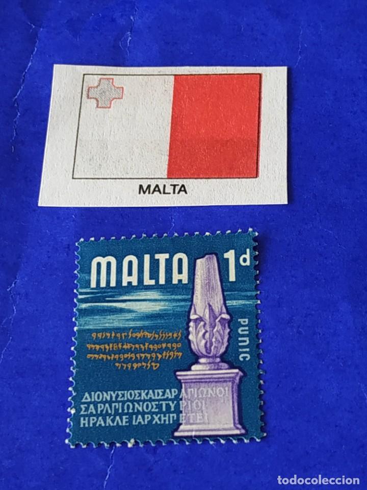 MALTA (A) - 1 SELLO CIRCULADO (Sellos - Extranjero - Europa - Malta)