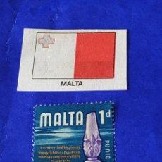 Sellos: MALTA (A) - 1 SELLO CIRCULADO. Lote 202029205