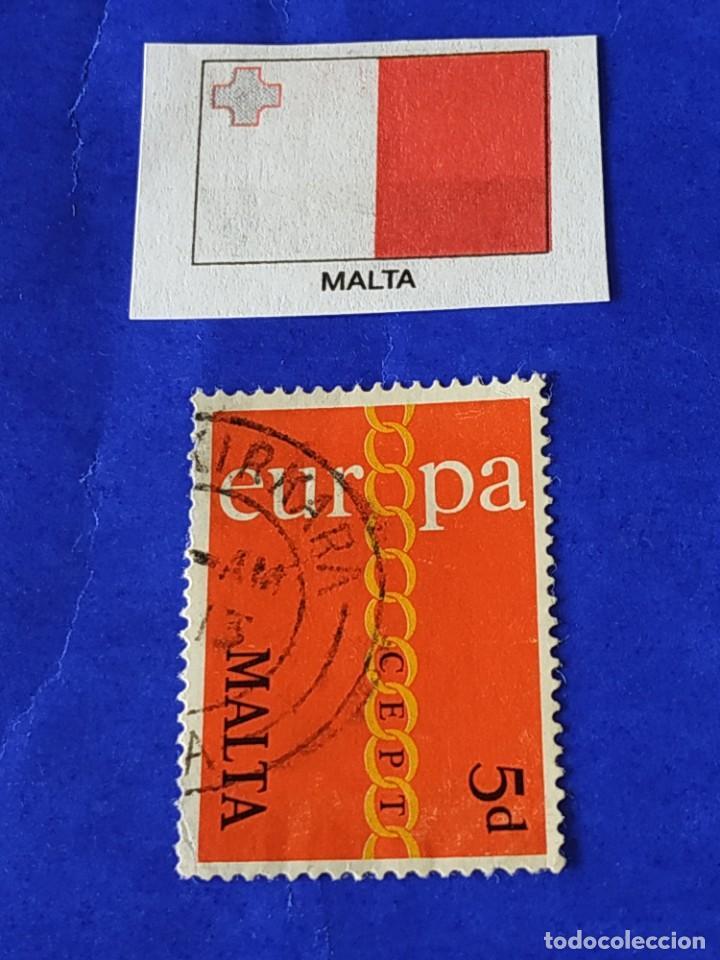 MALTA (G) - 1 SELLO CIRCULADO (Sellos - Extranjero - Europa - Malta)