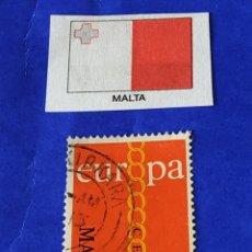 Sellos: MALTA (G) - 1 SELLO CIRCULADO. Lote 202029843