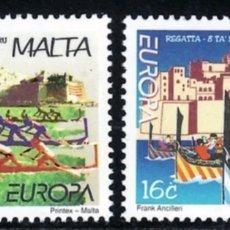 Sellos: MALTA,MNH, FIESTAS NACIONALES, EUROPA CEPT 1998 (FOTOGRAFÍA REAL). Lote 202594821